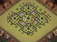 jdjdhdh TH 9 Clash of Clans Base Layout