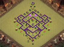 war TH 7 Clash of Clans Base Layout