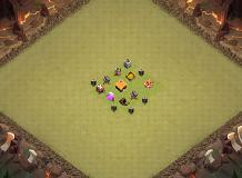 1TH TH 1 Clash of Clans Base Layout