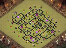 TH9 TH 9 Clash of Clans Base Layout