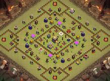 Naruto TH 11 Clash of Clans Base Layout