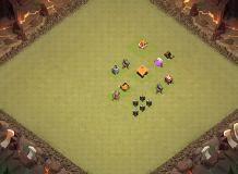 ff TH 1 Clash of Clans Base Layout