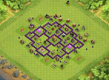 My COC Base TH 7 Clash of Clans Base Layout