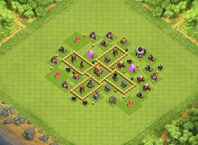TH5 TH 5 Clash of Clans Base Layout