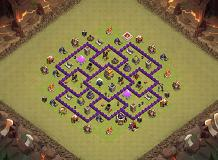TH7 V3 TH 7 Clash of Clans Base Layout