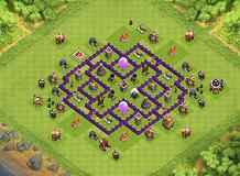 7-3-1 TH 7 Clash of Clans Base Layout