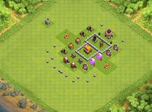 TH3 TH 3 Clash of Clans Base Layout