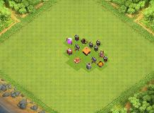 Uh... ok TH 1 Clash of Clans Base Layout