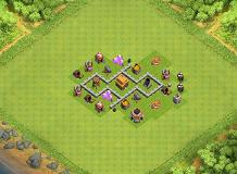 TH 3 TH 3 Clash of Clans Base Layout