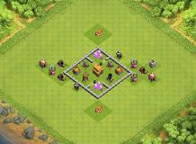 TH3 Base TH 3 Clash of Clans Base Layout