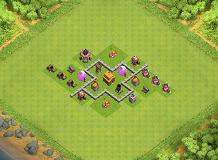 Level 3 TH 3 Clash of Clans Base Layout