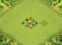 IF YOU ARE LOOKING YOU ninja TH 1 Clash of Clans Base Layout