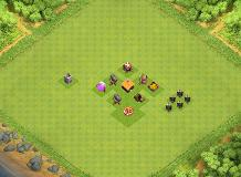 Th1 :D TH 1 Clash of Clans Base Layout