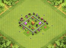 it'll do TH 3 Clash of Clans Base Layout