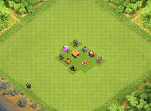 TH1 TROPHY TH 1 Clash of Clans Base Layout