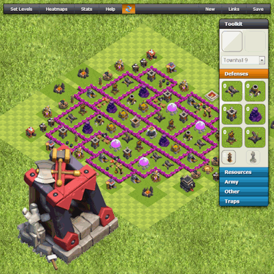 clash of clans tools crush your enemy layout builder layouts