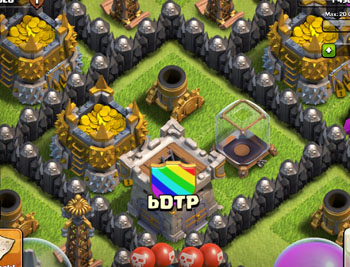 Your Clan Castle should ALWAYS be in the core
